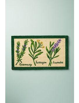 Herb Doormat by Anthropologie