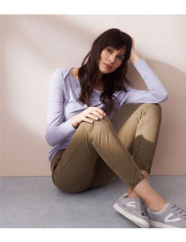 Lou &Amp; Grey Brushed Sateen Cargo Pants by Loft