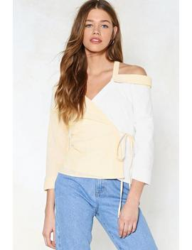 Let's Keep Things Splicey Striped Top by Nasty Gal