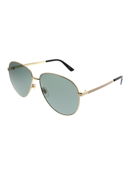 Gg0138s 001 Gold Aviator Sunglasses by Gucci