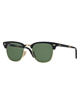 Ray Ban Folding Clubmaster Sunglasses by Ray Ban