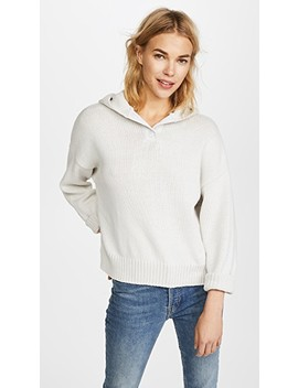 Lillian Hooded Sweater by 360 Sweater