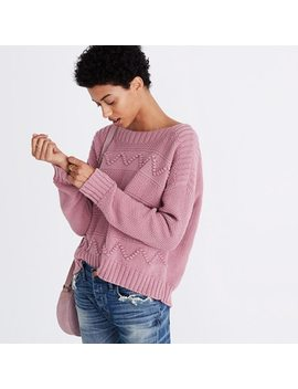 Zigzag Stitch Pullover Sweater by Madewell