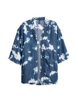 Lyocell Kimono Mit Batikmuster by H&M