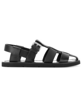 Caged Gladiator Sandals by Prada