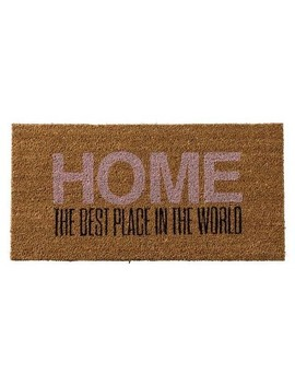 "Coir Door Mat ""Home""   3 R Studios by 3 R Studios"