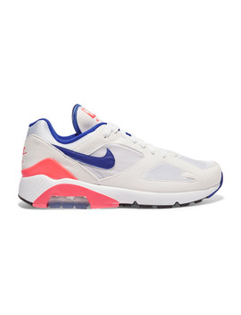 Air Max 180 Felt And Mesh Sneakers by Nike