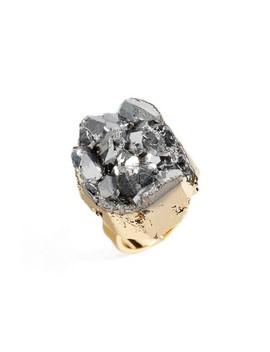 Noa Drusy Quartz Ring by Elise M.