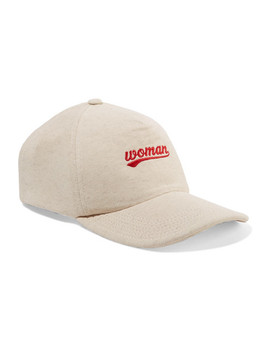 Embroidered Cotton Jersey Baseball Cap by Off White