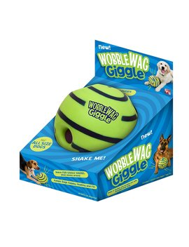Allstar Innovations Wobble Wag Giggle Ball, Dog Toy, As Seen On Tv by Allstar Innovations