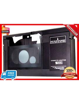 Vhs C Cassette Adapter Jvc Panasonic Camcorder Video Motorized Vhs Vcr New Best by Vw Gte7 E