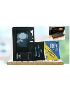 For Panasonic Cass<Wbr>Ette Adapter Vhs C Vw Gte7 E<Wbr> Battery Opera<Wbr>Ted Included by Panasonic For