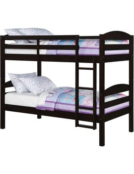 Better Homes And Gardens Leighton Twin Over Twin Wood Bunk Bed (Bed Only) by Better Homes And Gardens*