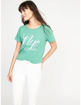 """Nyc"" Graphic Tee For Women by Old Navy"