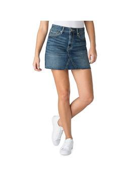 Juniors' Denzien From Levi's Fray Hem Mini Jean Skirt by Kohl's