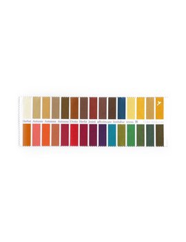 Fabric Color Swatch And Glasses Cleaning Cloth Autumn With 30 Colors by Color & Style