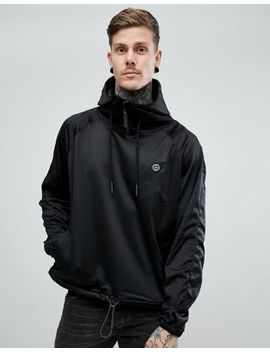 Religion Hoodie With Funnel Neck In Tricot by Religion