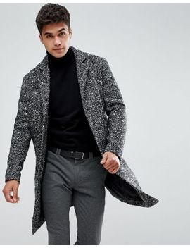 Jack & Jones Originals Wool Overcoat by Jack & Jones