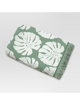 Palm Leaf Towels Cream/Green   Threshold™ by Shop Collections