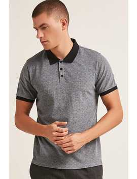 Classic Swiss Dot Polo Shirt by F21 Contemporary