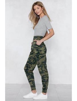 March On Camo Joggers by Nasty Gal