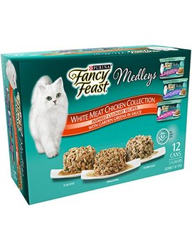 Purina Fancy Feast Medleys Tuscany, Primavera And Florentine Collections Gourmet Wet Cat Food Variety Pack   (12) 3 Oz. Cans by Purina Fancy Feast