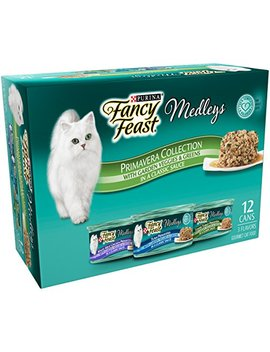 Purina Fancy Feast Medleys Primavera Collection Gourmet Wet Cat Food   (24) 3 Oz. Cans by Purina Fancy Feast