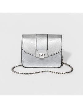 Women's Cesca Mini Crossbody Bag With Chain by Cesca