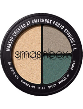 Color:Day Rate (Shimmering Tan Metallic, Pewter Sheen, Deep Forrest Green Metallic) by Smashbox