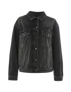 Distressed Denim Jacket by Topshop Boutique