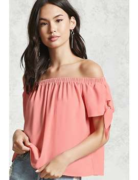 Contemporary Crepe Woven Top by Forever 21