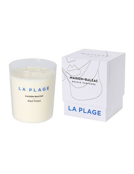 La Plage Scented Candle, 9.9 Oz. / 280 G by Maison Balzac