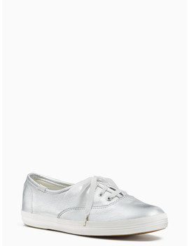 Keds X Kate Spade New York Metallic Sneakers by Kate Spade