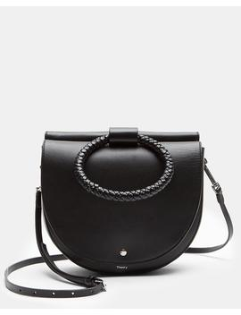 Whitney Shoulder Bag With Braid Hoop In Nappa Leather by Theory