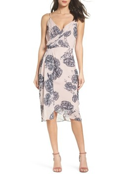 Bellini Rose Drape Dress by Cooper St
