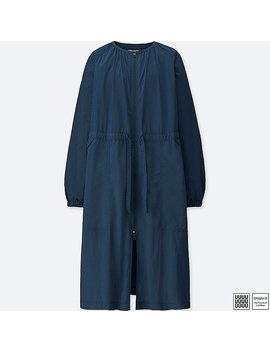 Women U Packable Long Parka by Uniqlo
