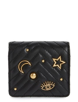 Half Snap Calfskin Leather Wallet by Rebecca Minkoff
