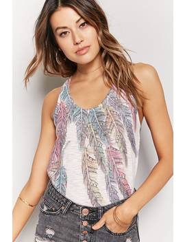 Tribal Inspired Trapeze Tank by Forever 21