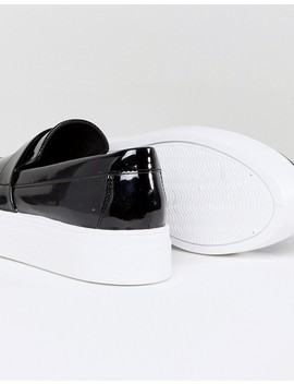 Asos Driver Wide Fit Slip On Sneakers by Asos Collection