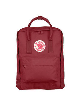 New Mini Fjallraven Kanken 23561 Backpack (#326 Ox Red) by Fjallraven