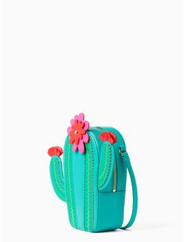 New Horizons Cactus Crossbody by Kate Spade