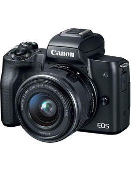 Eos M50 Mirrorless Digital Camera With 15 45mm Lens (Black) by Canon