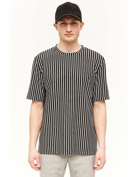 Vertical Striped Tee by Forever 21