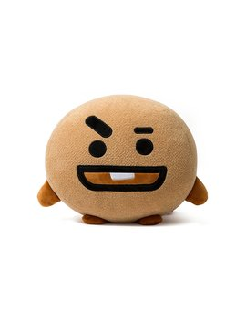 Bt21 Shooky Cushion 11.8 Inches Brown by Bt21