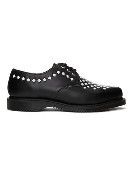 Black Studded Willis Creepers by Dr. Martens
