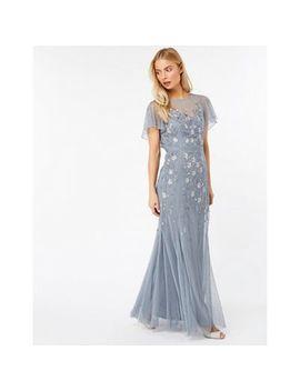 Monsoon   Grey 'giovanna' Maxi Dress by Monsoon