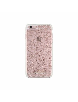 Clear Glitter Case For Apple I Phone 6 Plus And 6s Plus   Rose Gold Glitter by Kate Spade New York