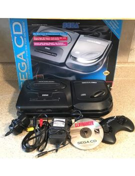Sega Genesis With Sega Cd Lot by Sega
