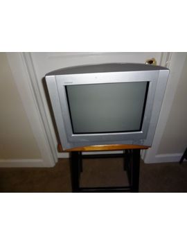 "Sony Fd Trinitron Wega Kv 13 Fs100 13"" Crt Television Video Gaming Tested by Sony"