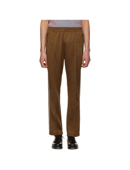 Brown Narrow Track Pants by Needles